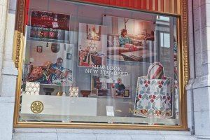 department store, window, campaign, advertising, NYC, photographer