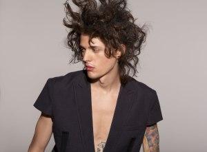 men's hair photography