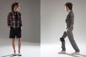 Men's fashion photography in studio