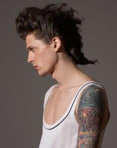 men's beauty photography studio editorial