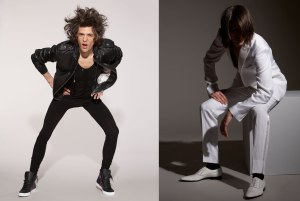 Menswear photography Fusion model management