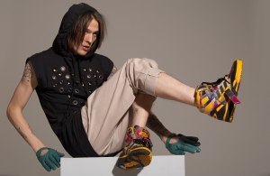 men's footwear sneaker photographer