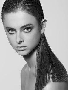 Fashion model beauty