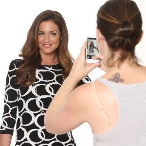 makeup artist, bts, behind the scenes, selfie, fashion model