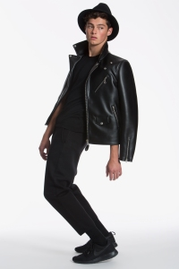 New York Mens model fashion campaign